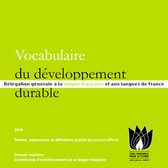 terminologie 2015 Vocabulaire du developpement durable vignette actu