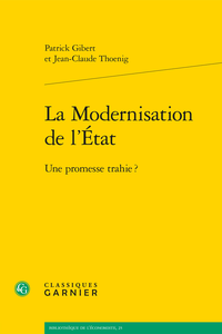 La modernisation de l tat